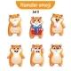 Hamster Characters Set 2