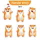 Hamster Characters Set 1