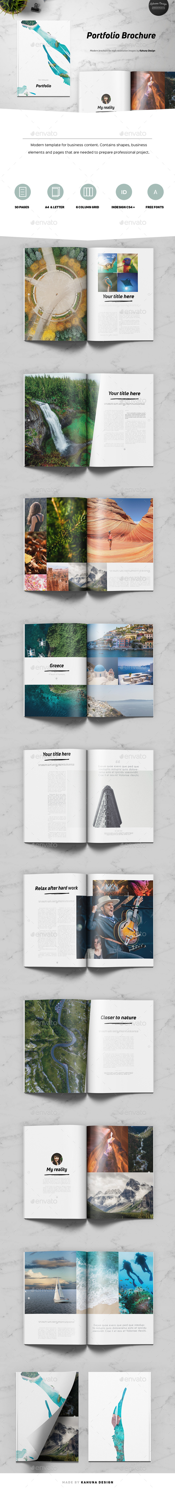 GraphicRiver Portfolio Brochure 20755736
