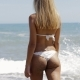 Anonymous Sexual Model in Bikini on Beach - VideoHive Item for Sale