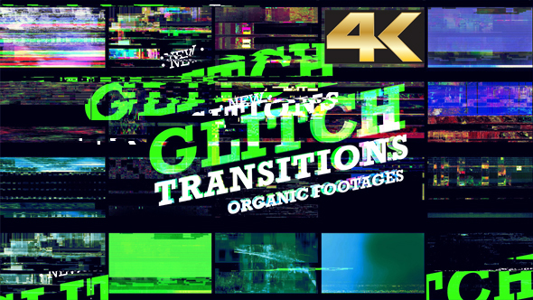 Videohive - Glitch Transition 4K 20756178