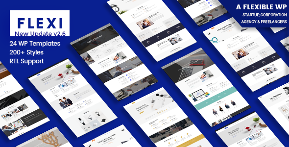 Flexible WordPress Theme | Flexi - Business Corporate