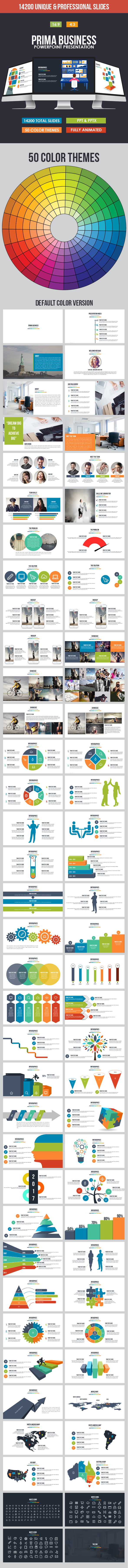 Prima Business Powerpoint Template - Business PowerPoint Templates