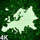 Europe Map Digital 4K (2 in 1) - VideoHive Item for Sale