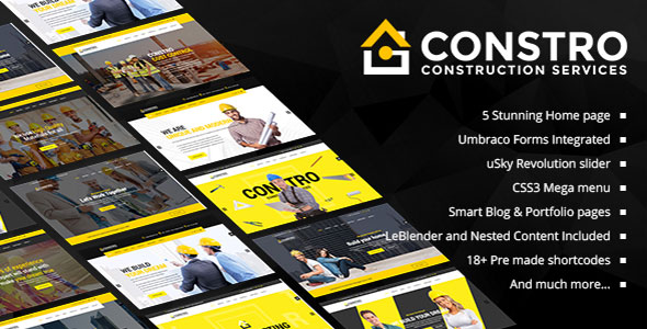 Constro - Construction Business Umbraco Theme Best Scripts