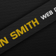 Black and Yellow Business Card - GraphicRiver Item for Sale