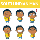 South Indian Man - GraphicRiver Item for Sale