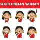 South Indian Woman - GraphicRiver Item for Sale