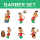 Barber Set - GraphicRiver Item for Sale