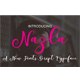 Nazla - GraphicRiver Item for Sale