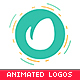 Animated Flat Logo Pack - 6 Photoshop Templates
