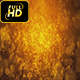 Golden Particles Magical Background Loop