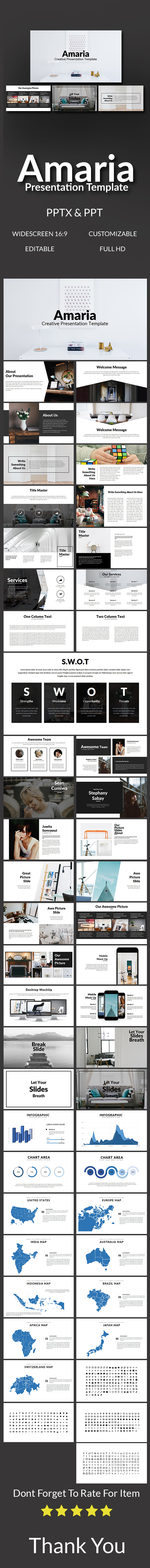 GraphicRiver Amaria Presentation Template 20757279