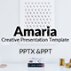 Amaria Presentation Template - GraphicRiver Item for Sale
