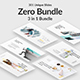 3 in 1 Zero Bundle Creative Powerpoint Template - GraphicRiver Item for Sale
