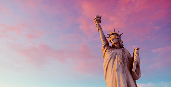 VideoHive Monument To The Statue Of Liberty 20757515