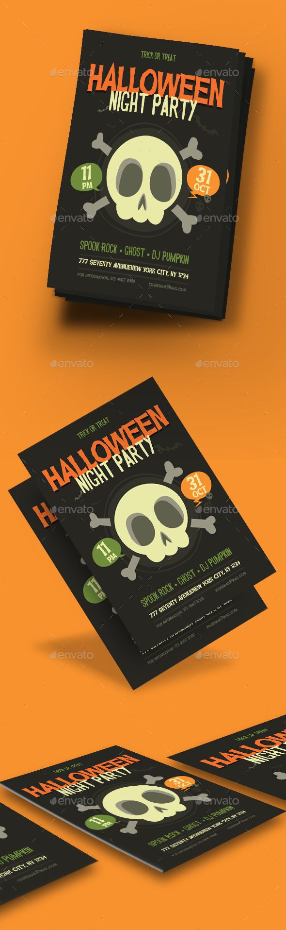 Halloween Flyer - Flyers Print Templates