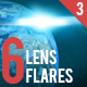 6 Pack Lens Flares 3 - GraphicRiver Item for Sale