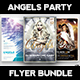 Angels Party Flyer Bundle - GraphicRiver Item for Sale