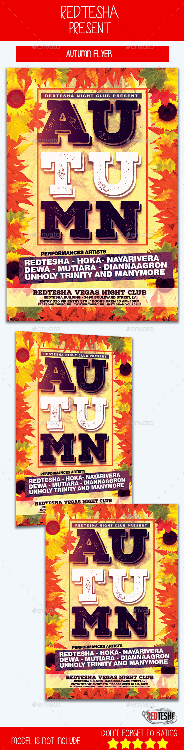 Autumn Flyer - Events Flyers