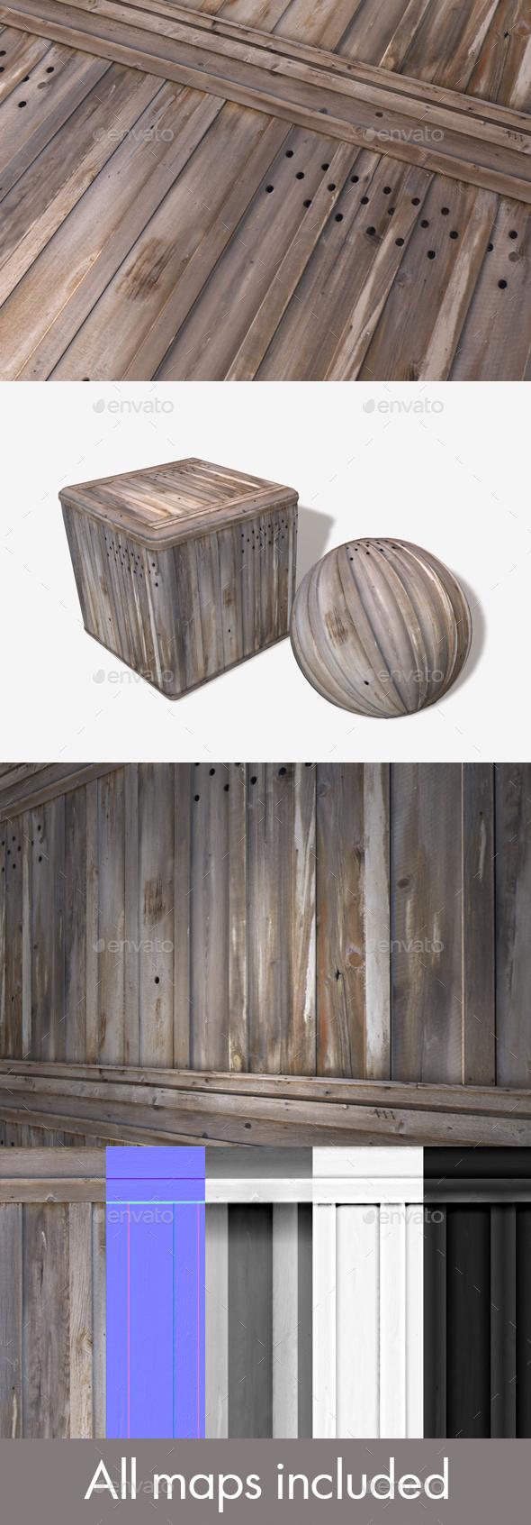 3DOcean Scrap Wooden Planks Seamless Texture 20757812