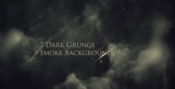 Dark grunge smoke backgrounds by martinprouser videohive - Dark smoking wallpapers ...