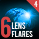 6 Pack Lens Flares 4 - GraphicRiver Item for Sale