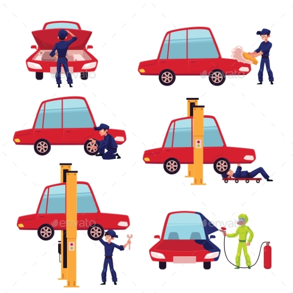 GraphicRiver Auto Mechanic 20758273