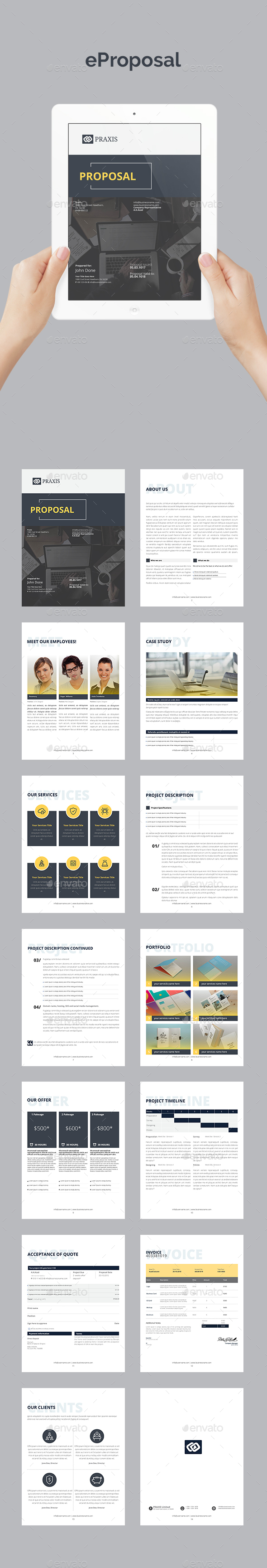 GraphicRiver eProposal 20758292