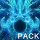 Glow Particle Streaks Rising Pack