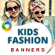Kids Fashion Banners