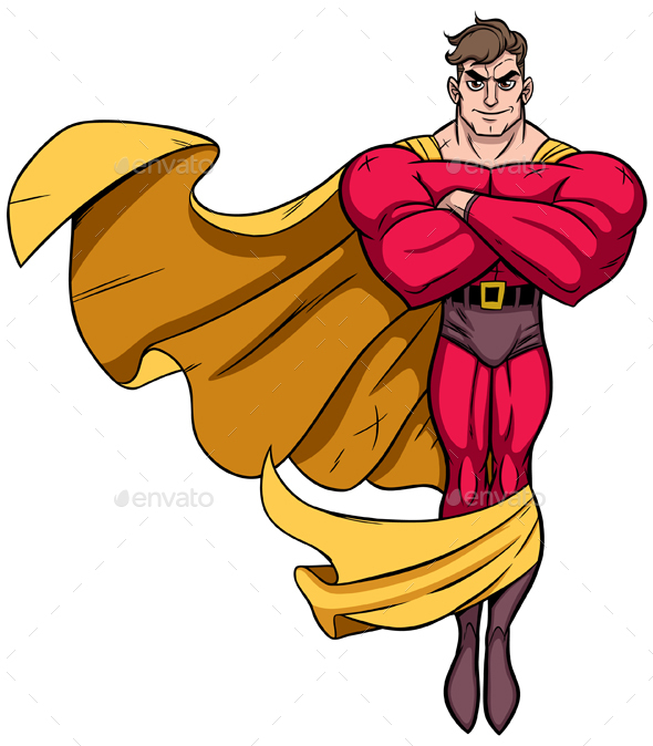 Superhero Flying 3 - People Characters