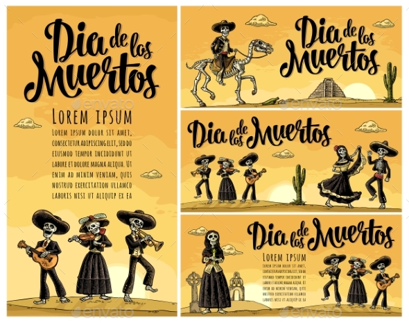 Skeleton Mexican Costumes Dance and Play - Miscellaneous Seasons/Holidays