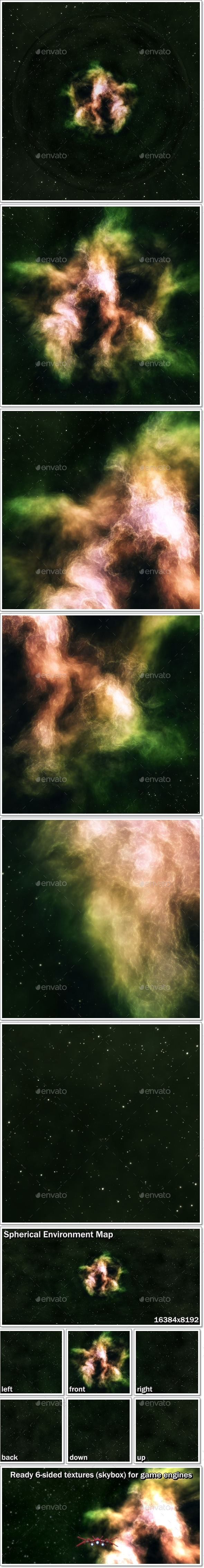 3DOcean Nebula Space Environment HDRI Map 007 20759414