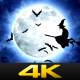 Halloween Witches Flying - VideoHive Item for Sale