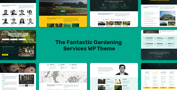 Image of Gardeneer - The Gardening Services WordPress Theme