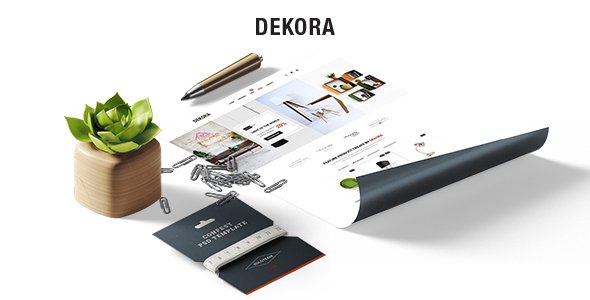 Image of Dekora - Multipurpose Responsive Prestashop 1.7 Theme