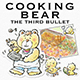 Cooking Bear The Third Bullet Hand-Drawn Illustrations