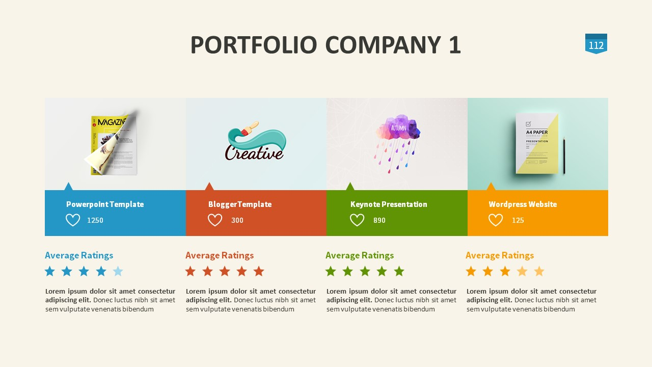 minimal presentation powerpoint templatetoni777 | graphicriver, Presentation templates