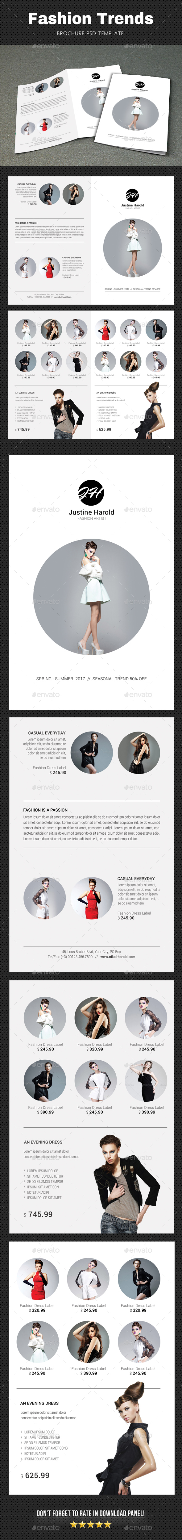 Fashion Brochure 5 - Brochures Print Templates