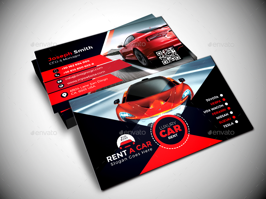 Luxury rent a car business card by designsign graphicriver screenshot01g colourmoves