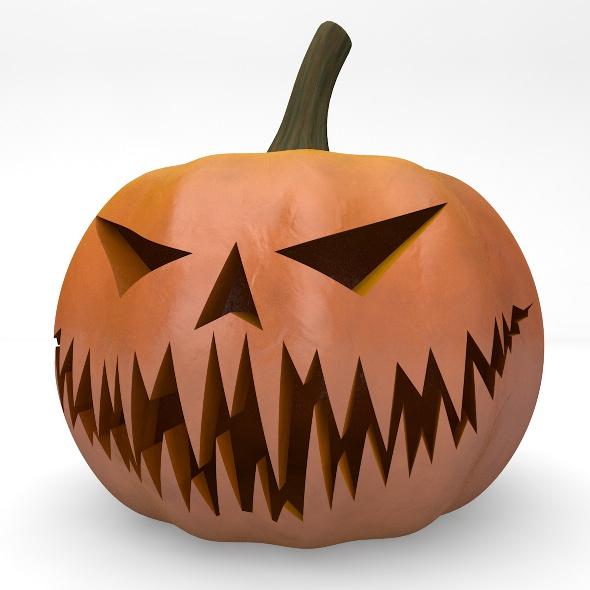 Halloween Pumpkin Element 3D - 3DOcean Item for Sale