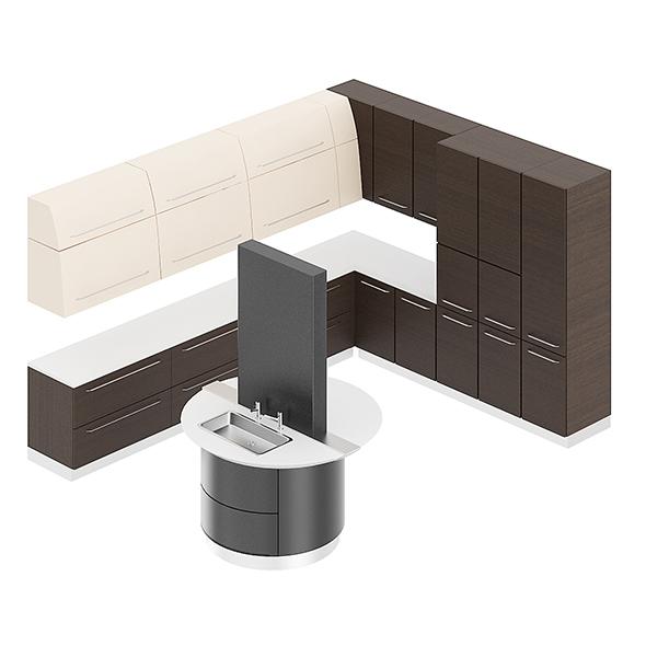 Kitchen Furniture Set 13 - 3DOcean Item for Sale