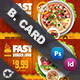 Restaurant Business Card Templates - GraphicRiver Item for Sale