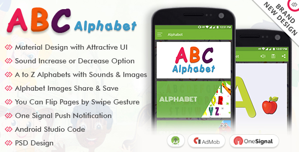 Alphabet - CodeCanyon Item for Sale