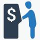 Cash Out Icons - Blue Version