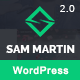 Sam Martin - Personal vCard Resume WordPress Theme - ThemeForest Item for Sale