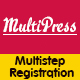 MultiPress Pro - WP Multi Step Registration Form Plugin