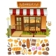 Bakery Shop Facade - GraphicRiver Item for Sale