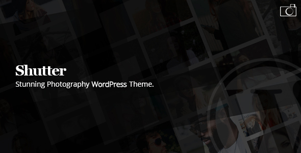 Shutter - Photography WordPress Theme - Photography Creative